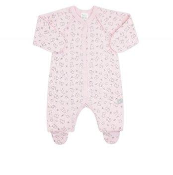 Комбинезон детский Коллекция 2019 SMIL 108452 розовый