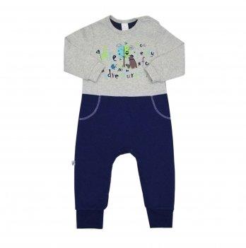 Человечек для мальчика Smil Скажи да Синий Интерлок 108507 2-3 года