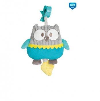 Музыкальная игрушка в коляску и кроватку Canpol babies Pastel Friends Бирюзовый 68/069