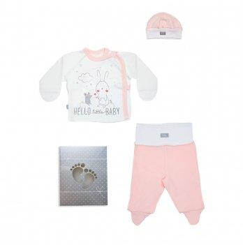 Комплект для новорожденного Smil 3 предмета Розовый 109907