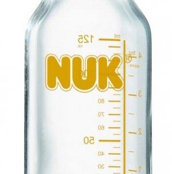 Бутылочка стеклянная NUK Клиник Medic Pro, 125 мл.