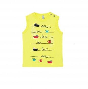 Майка для мальчика Smil Surffriends Желтый 110590