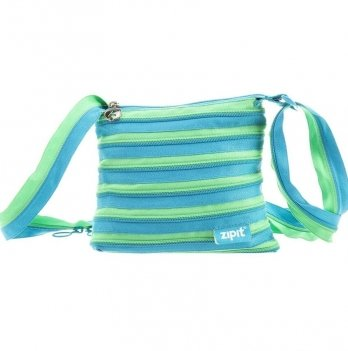 Сумка Medium, цвет Turquise Blue & Spring Green, Zipit ZBD-15
