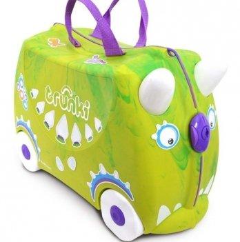 "Детский чемодан на колесах ""Trunkisaurus Rex"", Trunki 0066-GB01"