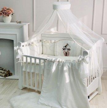 Комплект постельного белья Маленькая Соня Kolibri Молочный 013635 7 предметов