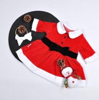 Платье велюровое MagBaby Новогоднее