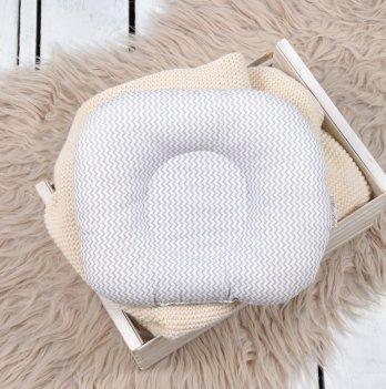 Ортопедическая подушка для новорожденных Magbaby Зигзаг Серый 130274