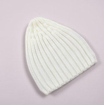 Детская вязаная шапка Magbaby Alen 3-7 лет Молочный