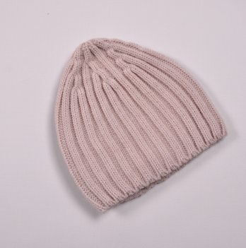 Детская вязаная шапка Magbaby Alen 3-7 лет Пудровый
