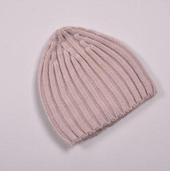 Детская вязаная шапка Magbaby Alen 6-24 мес Пудровый