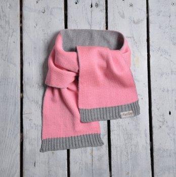 Шарф двухцветный Magbaby Розовый Серый 101144