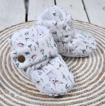 Пинетки-сапожки Magbaby Кролики