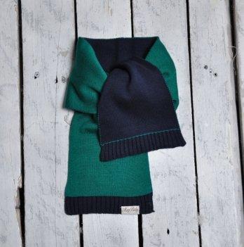 Шарф двухцветный Magbaby Зеленый Синий 101142