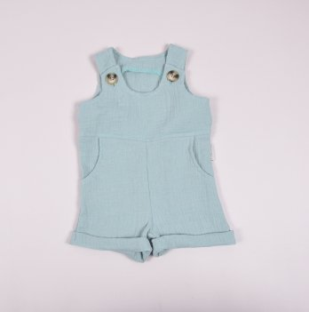 Ромпер детский из муслина Magbaby Carlson Голубой 0-2 года