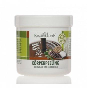 Пилинг для тела с маслом плодов ши и какао, Krauterhof