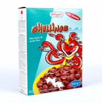Сухой завтрак Bruggen шоколадные ракушки