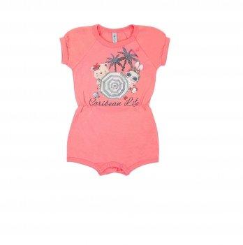 Песочник для девочки Smil Карибские каникулы Коралловый 111259