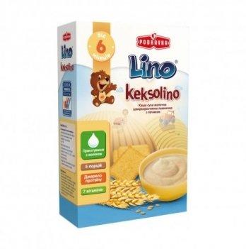 Каша пшеничная Podravka Lino Keksolino молочная, с печеньем 200 г