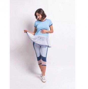 Бриджи для беременных Zen Wear Тампа Синий