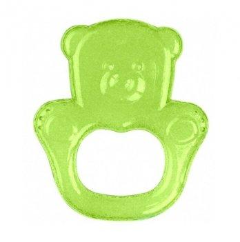 Прорезыватель с гелем BabyOno Медвежонок, зеленый