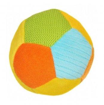Мягкий мяч BabyOno 1276 средний желтый
