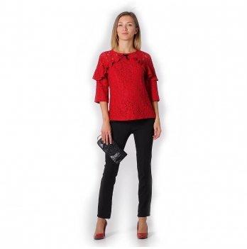 Блуза для беременных и кормящих NowaTy Яркий праздник Красный 19020305