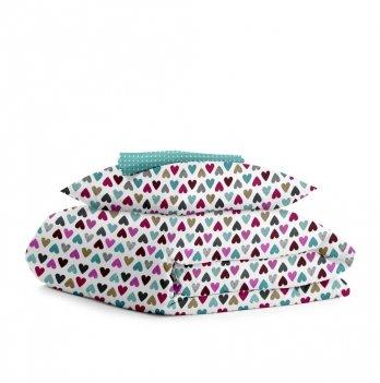 Детский комплект постельного белья Cosas Love Mint Бязь 3 предмета