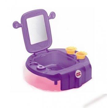 Умывальник детский Okbaby Space, с безопасным зеркалом, фиолетовый