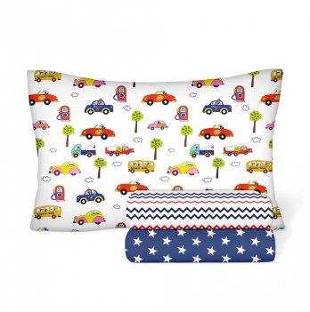 Детское постельное белье в кроватку Cosas Cars Star Бязь 3 предмета