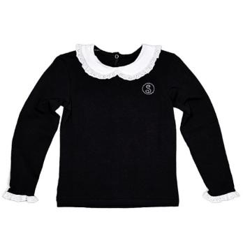 Блуза для девочки Smil 114213 черный
