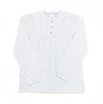 Блуза для девочки Smil 114307 белый