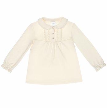 Блуза для девочки SMIL, возраст от 6 до 18 месяцев, кремовый