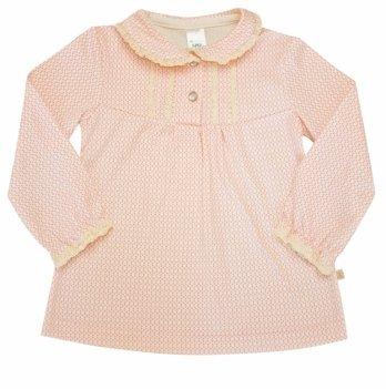 Блуза для девочки SMIL, возраст от 2 до 6 лет, розовая в горошек