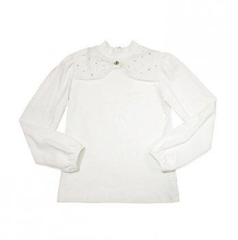 Блуза для девочки Smil 114419 белый