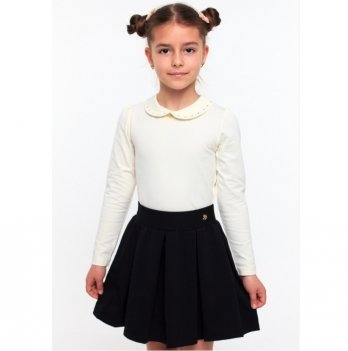Блуза для девочки Smil 114522 молочный