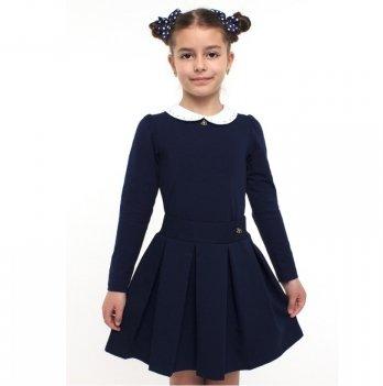 Блуза для девочки Smil 114522 темно-синий