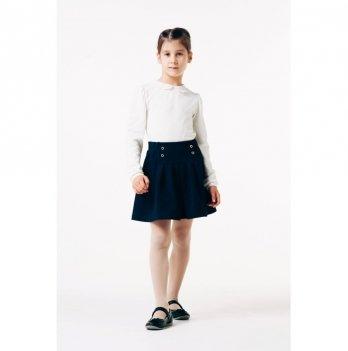Блуза для девочки длинный рукав Smil 114639 белый