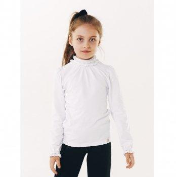 Блуза для девочки длинный рукав Smil 114640 белый