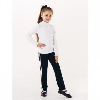 Блуза для девочки длинный рукав Smil 114641 белый