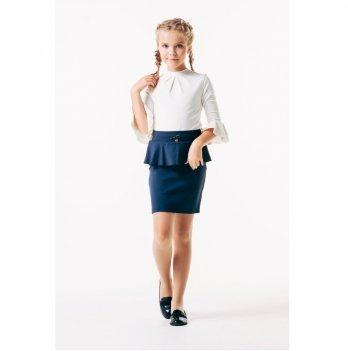 Блуза для девочки Smil 114642 белый