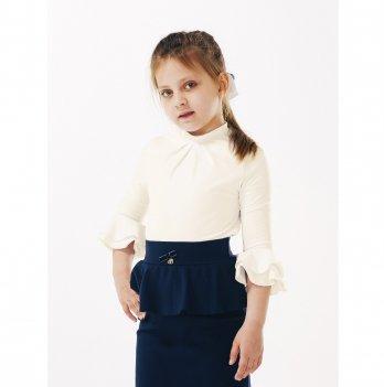 Блуза для девочки Smil 114642 молочный