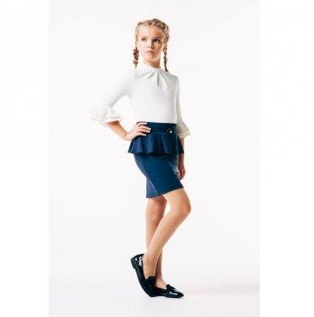 Блуза для девочки Smil 114643 белый
