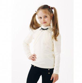Блуза для девочки длинный рукав Smil 114644 молочный