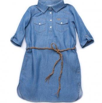 Платье джинсовое для девочки Модный карапуз Likeme