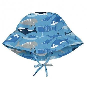 Солнцезащитная панамка I Play, Light Blue Whale League 747161-6303