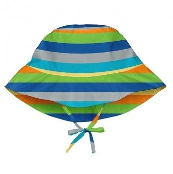 Солнцезащитная панамка I Play, Light Gray Multistripe 747161-814