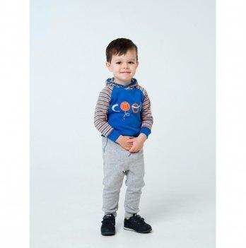Брюки для мальчика Smil Активный малыш Серый 115413