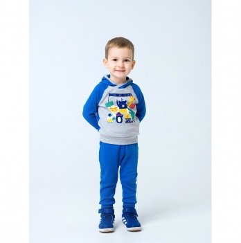 Брюки для мальчика Smil Активный малыш Синий 115413