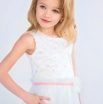 Платье нарядное для девочки Модный карапуз, 03-00688