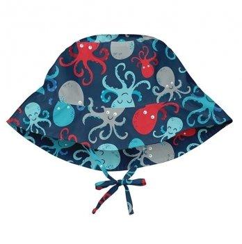 Солнцезащитная панамка I Play, Light Navy Octopus 747161-6306
